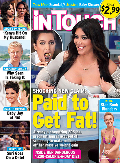 Kim Kardashian is FAT!