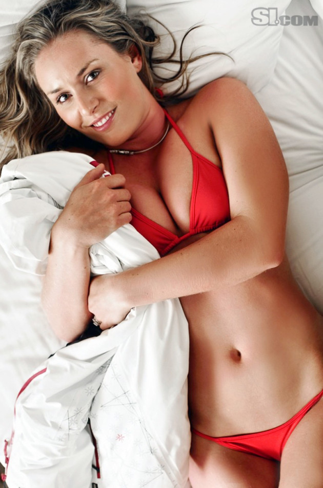 Lindsey Vonn Bikini Photo in SI