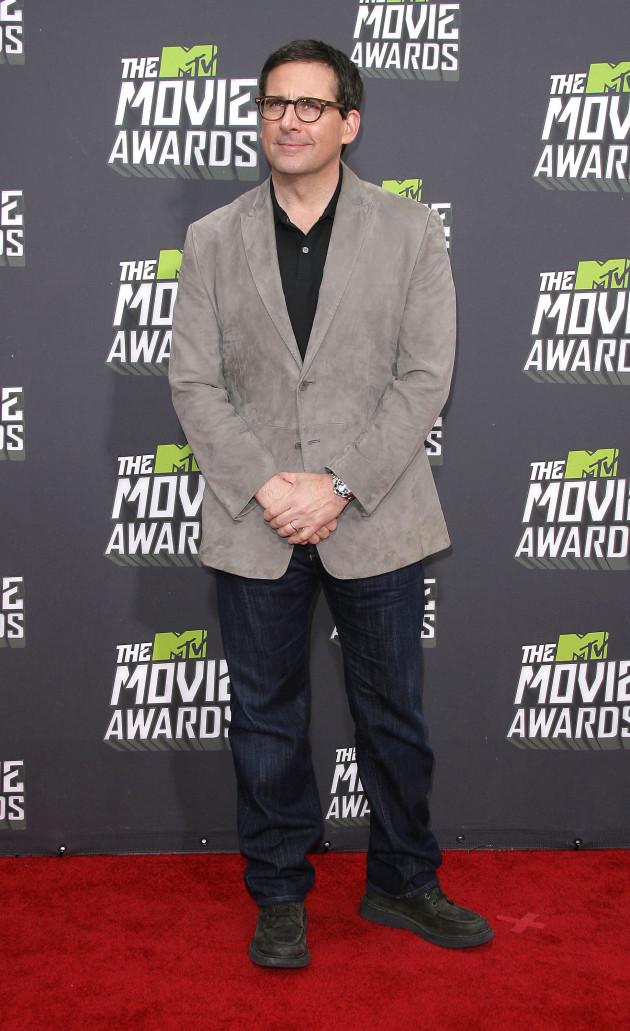 Steve Carell at MTV Movie Awards