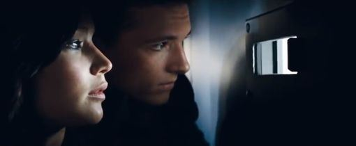 Katniss and Peeta on High Alert