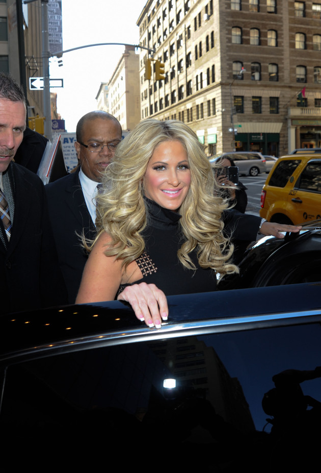 Kim Zolciak in New York