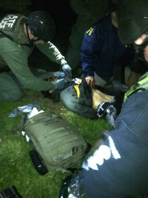 Boston Suspect Arrest Photo