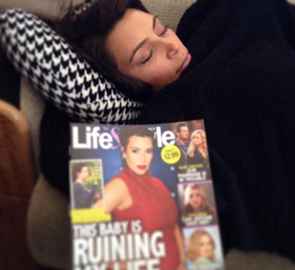 Kim Kardashian Instagram Photograph