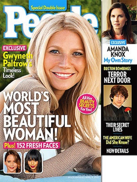 Gwyneth Paltrow People Cover