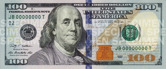 New Hundred Dollar Bill
