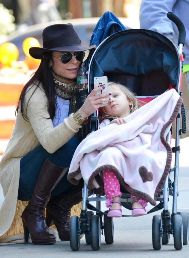 Bethenny Frankel with Bryn