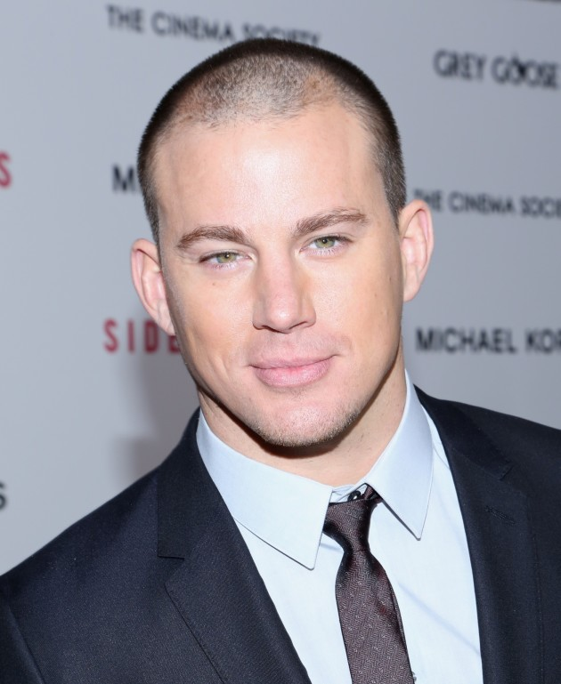 Channing Tatum Up Close