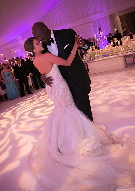 Michael Jordan Wedding Photo