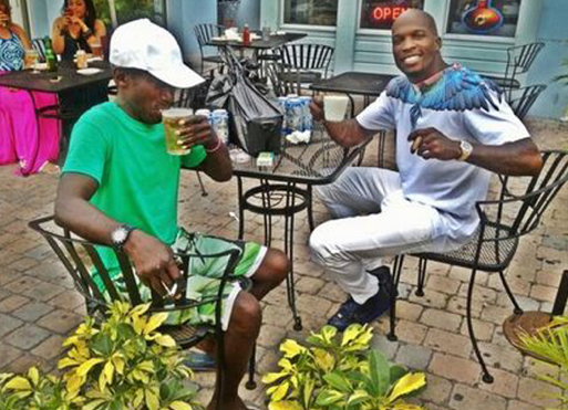 Chad Johnson, Homeless Man Photo