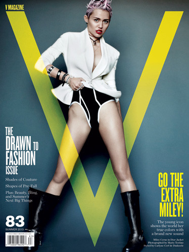 Miley Cyrus for V