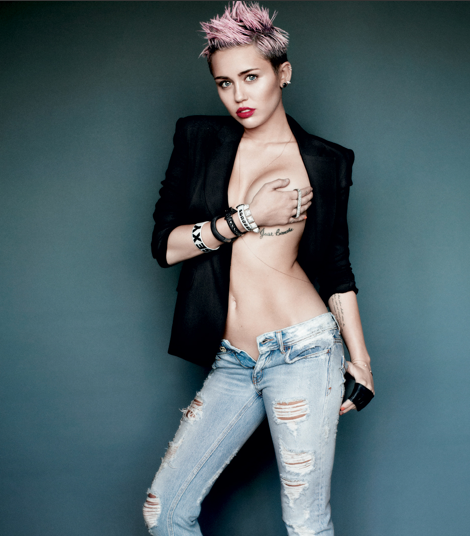 Miley Cyrus, Breast