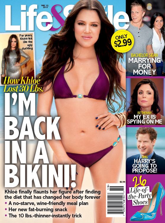 Khloe Kardashian Bikini Cover