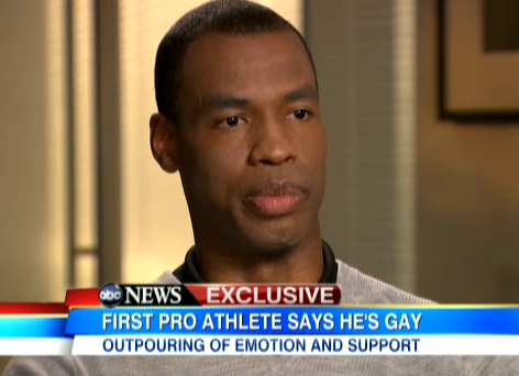Jason Collins on GMA