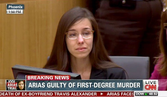 Jodi Arias: Guilty!