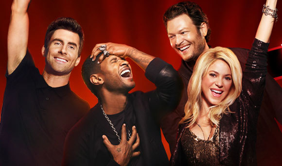 The Voice Season 4 Coaches Photo