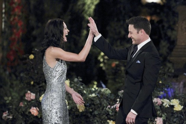 Desiree Hartsock and Chris Harrison