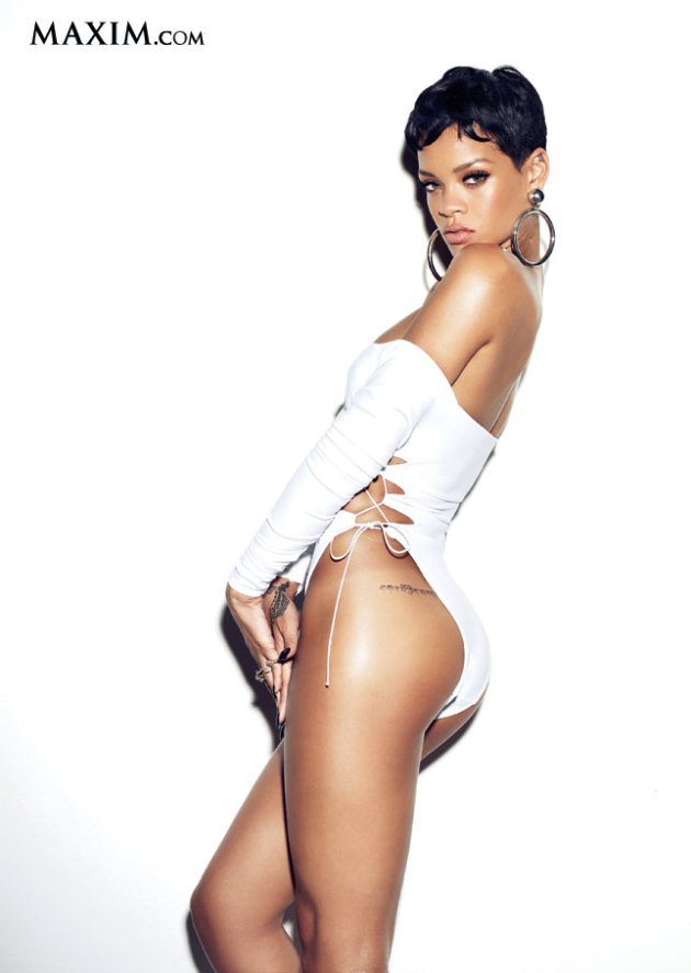 Rihanna Maxim Photo