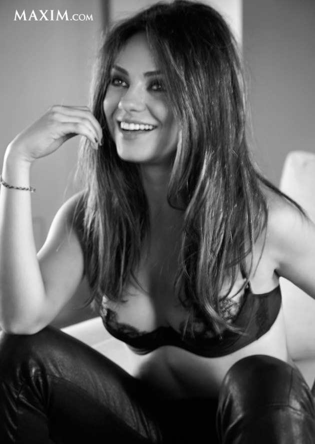 Mila Kunis Maxim Photo