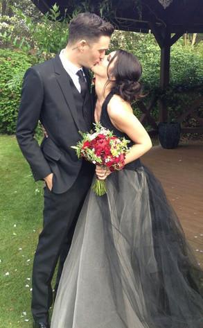 Shenae Grimes Wedding Photo