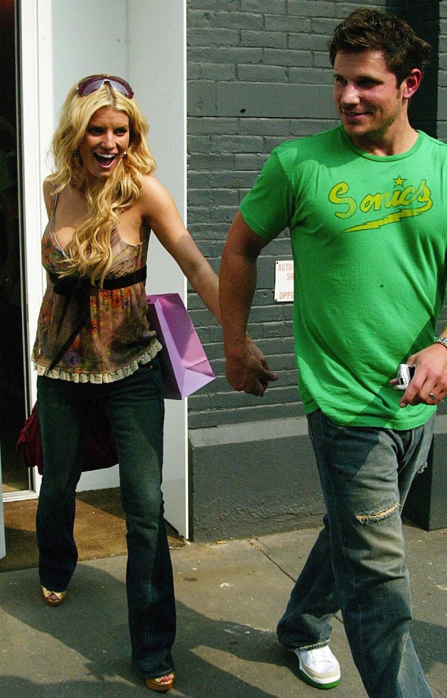 Jessica Simpson and Nick Lachey Pic
