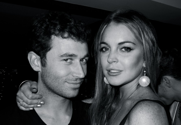 Lindsay Lohan and James Deen