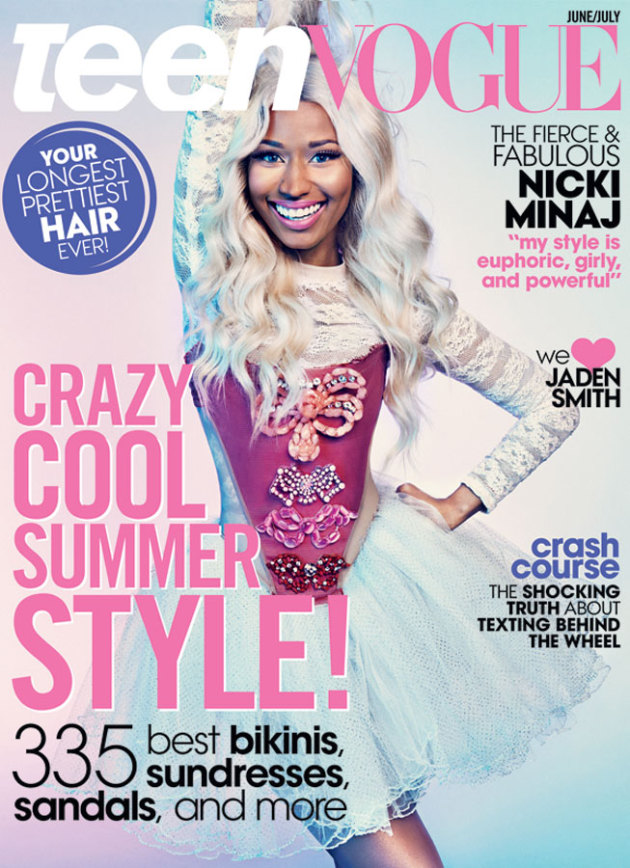 Nicki Minaj Teen Vogue Cover