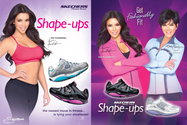 Kim Kardashian Skechers Ad