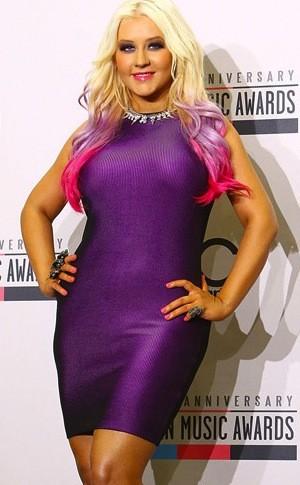 Christina Aguilera Pre-Weight Loss
