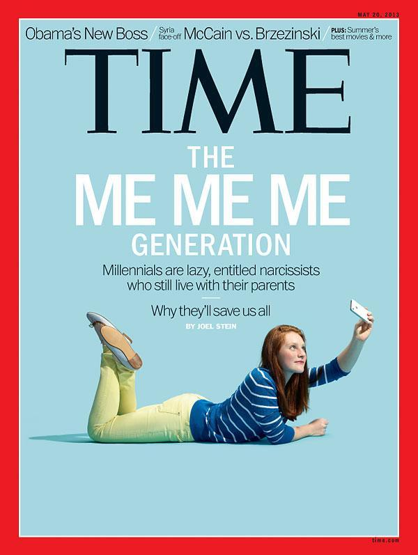 Time Millennials Cover