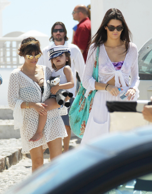 Mason, Kendall and Kourtney