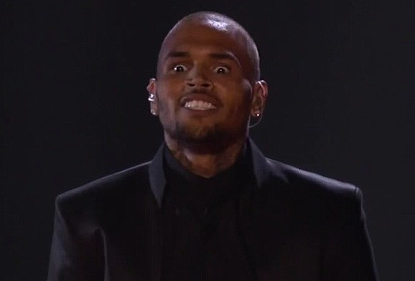 Chris Brown RAGE!