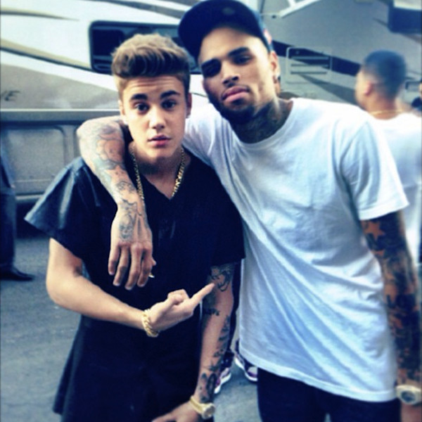 Justin Bieber, Chris Brown Photo