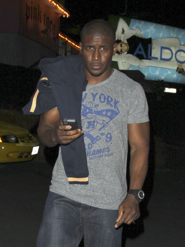 Reggie Bush on the Street