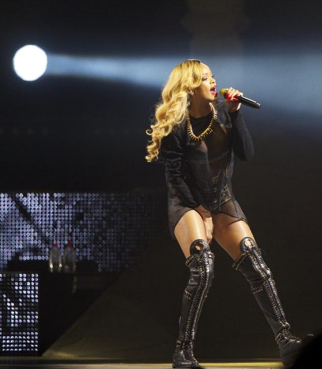 Rihanna in Spain