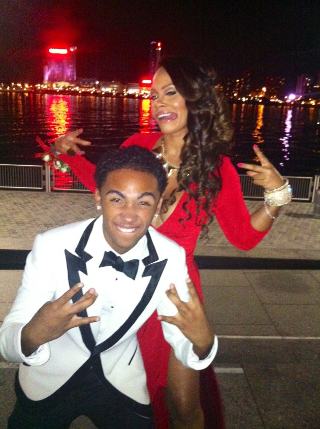 Evelyn Lozada Prom Pic