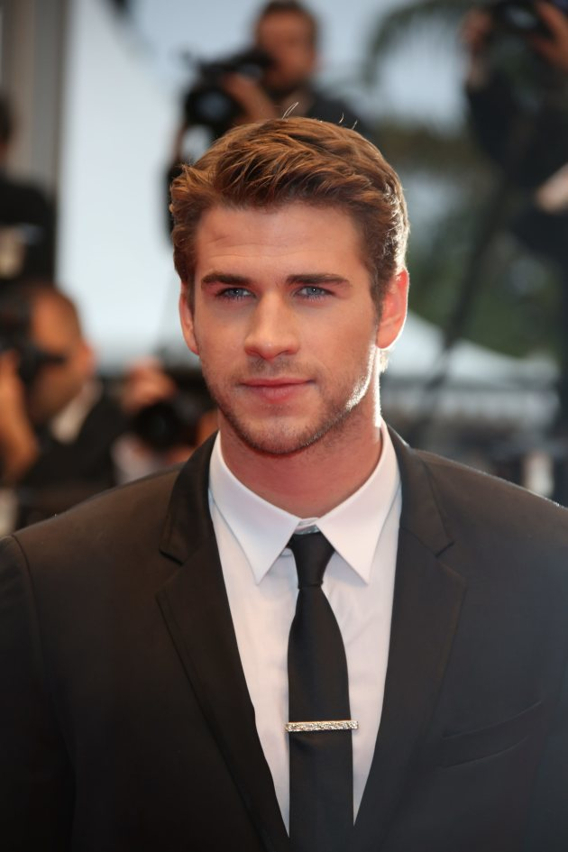 Liam Hemsworth in Cannes