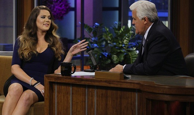 Khloe Kardashian on Tonight Show