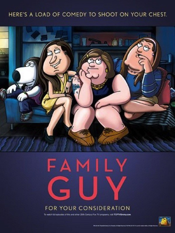 Family Guy Emmy Ad