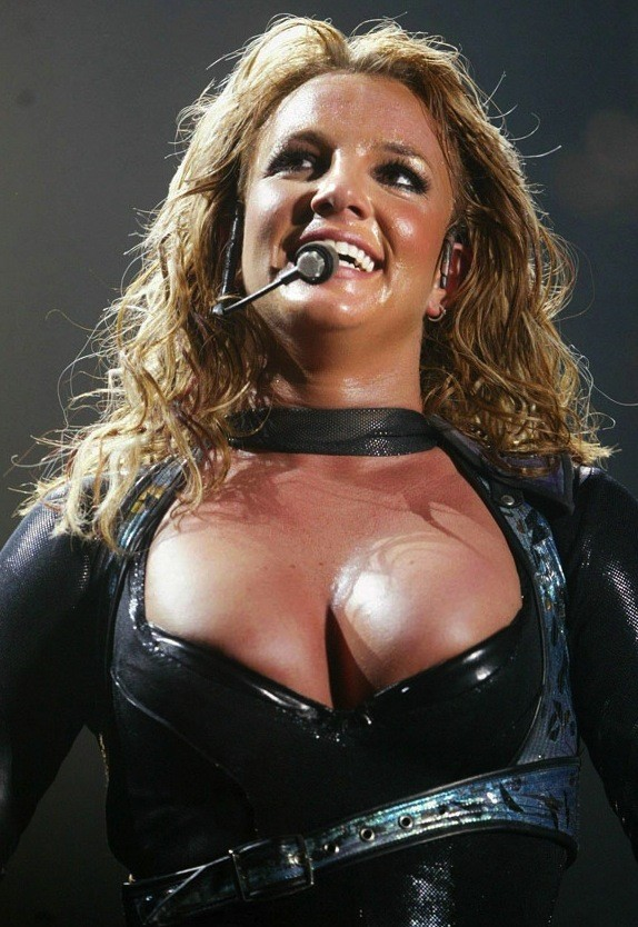 Epic Britney Spears Cleavage