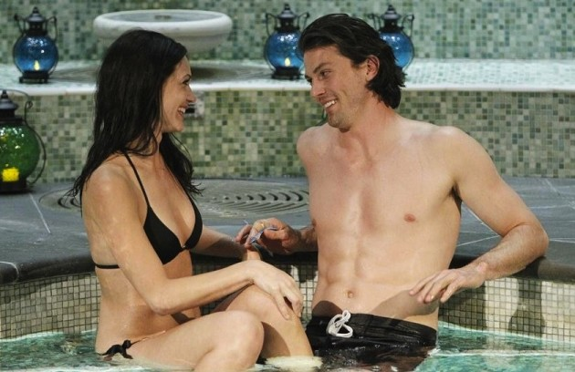 Desiree Hartsock and Brooks Forester