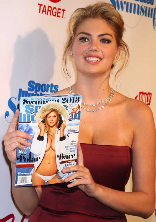 Kate Upton With SI Cover