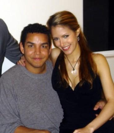 Taj Jackson, Wife