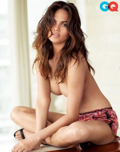 Chrissy Teigen Topless Picture