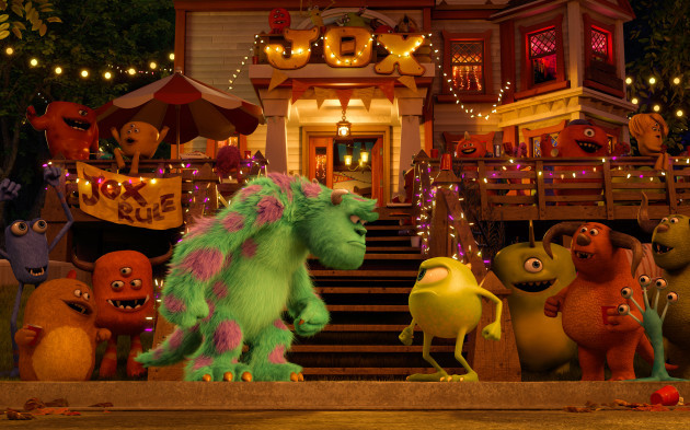 Monsters University Mike and Sully