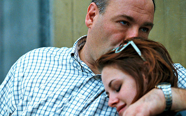 Kristen Stewart and James Gandolfini