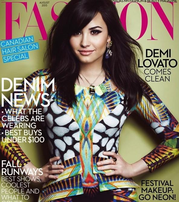 Demi Lovato Fashion Cover