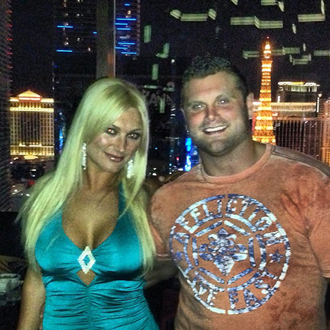 Brooke Hogan and Phil Costa