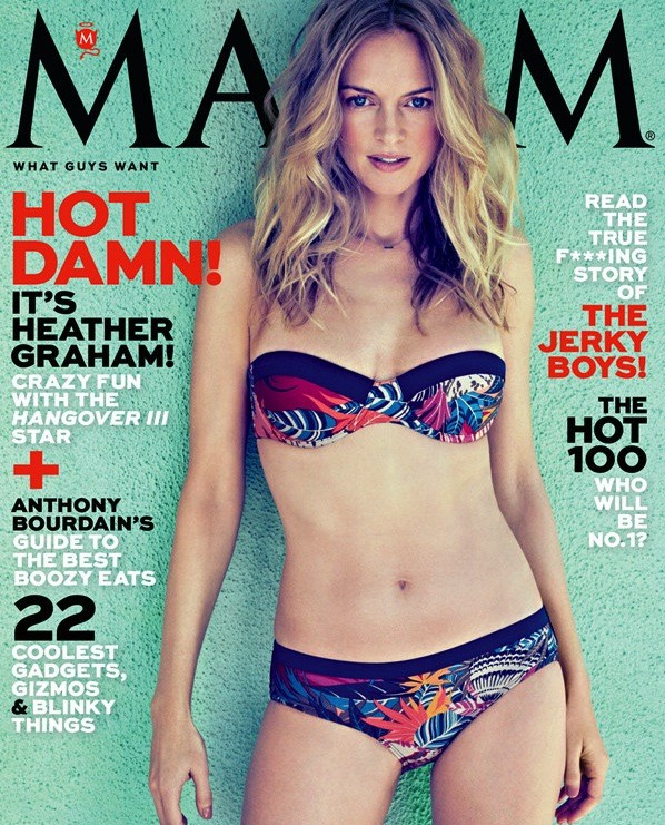 Heather Graham Maxim Cover