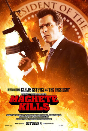 Charlie Sheen Machete Kills Poster
