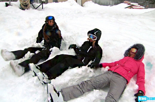 Snow Angels Hit The Slopes